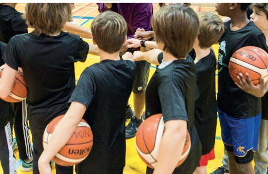 Mini-basket : saison automne 2021